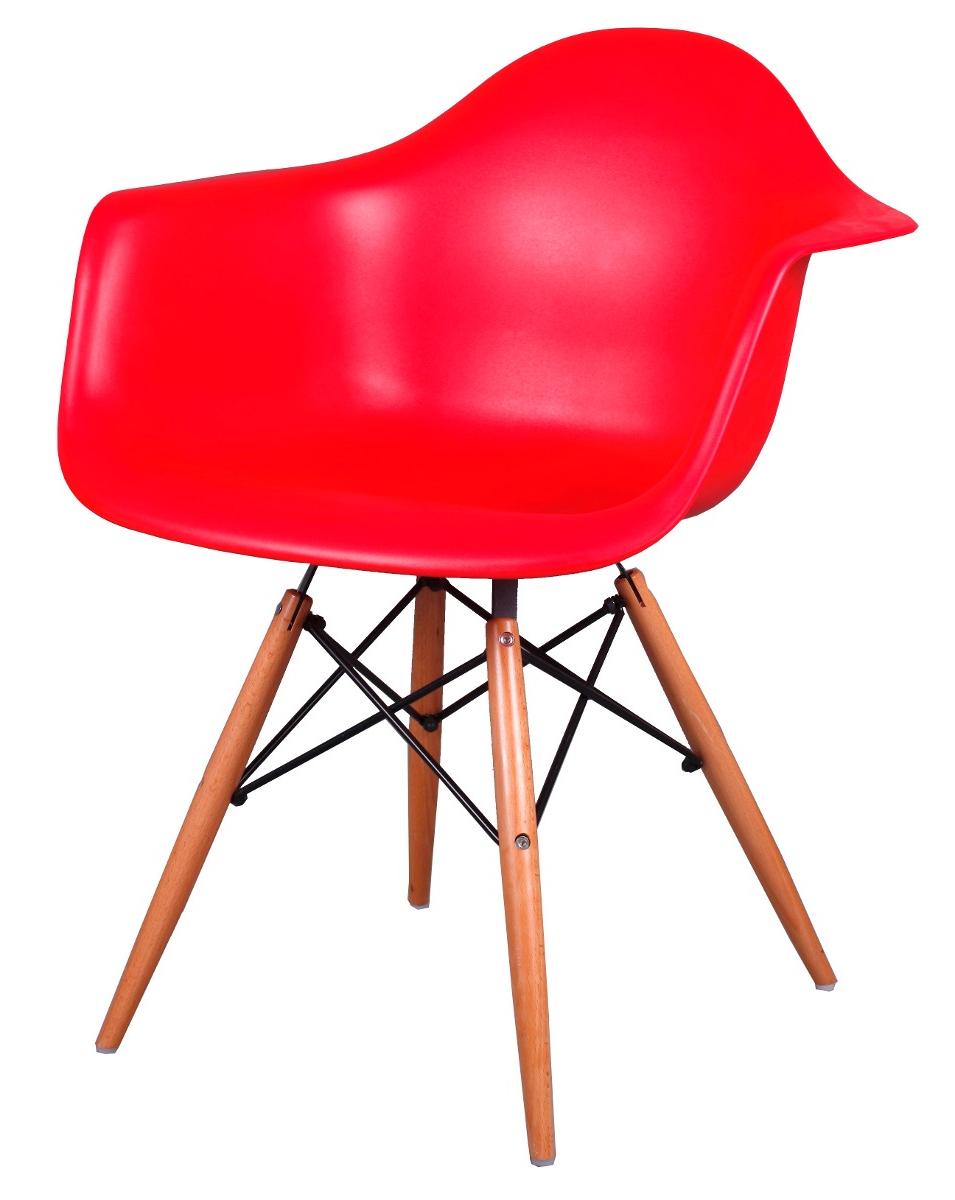 Butaca Roja Ipdd Silla Eames Con Apoyabrazo butaca Roja La Mejor Calidad 1 890