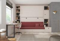 Cama Abatible Horizontal Con sofa Ftd8 Cama Abatible Horizontal Individual Serie Versatile De