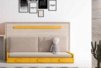 Cama Abatible Horizontal Con sofa H9d9 Cama Abatible Horizontal Con sofà De 105×190 En Pamplona Navarra