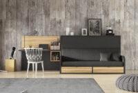 Cama Abatible Horizontal Con sofa Kvdd Cama Abatible Horizontal Con sofà Versatile Elmenut