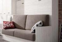 Cama Abatible Horizontal Con sofa Tldn Madrid 164