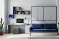 Cama Abatible Horizontal Con sofa U3dh Cama Abatible Con Armario sofà Y Zona De Estudio My Room
