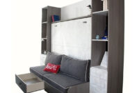 Cama Abatible Horizontal Con sofa Wddj Tetris 9