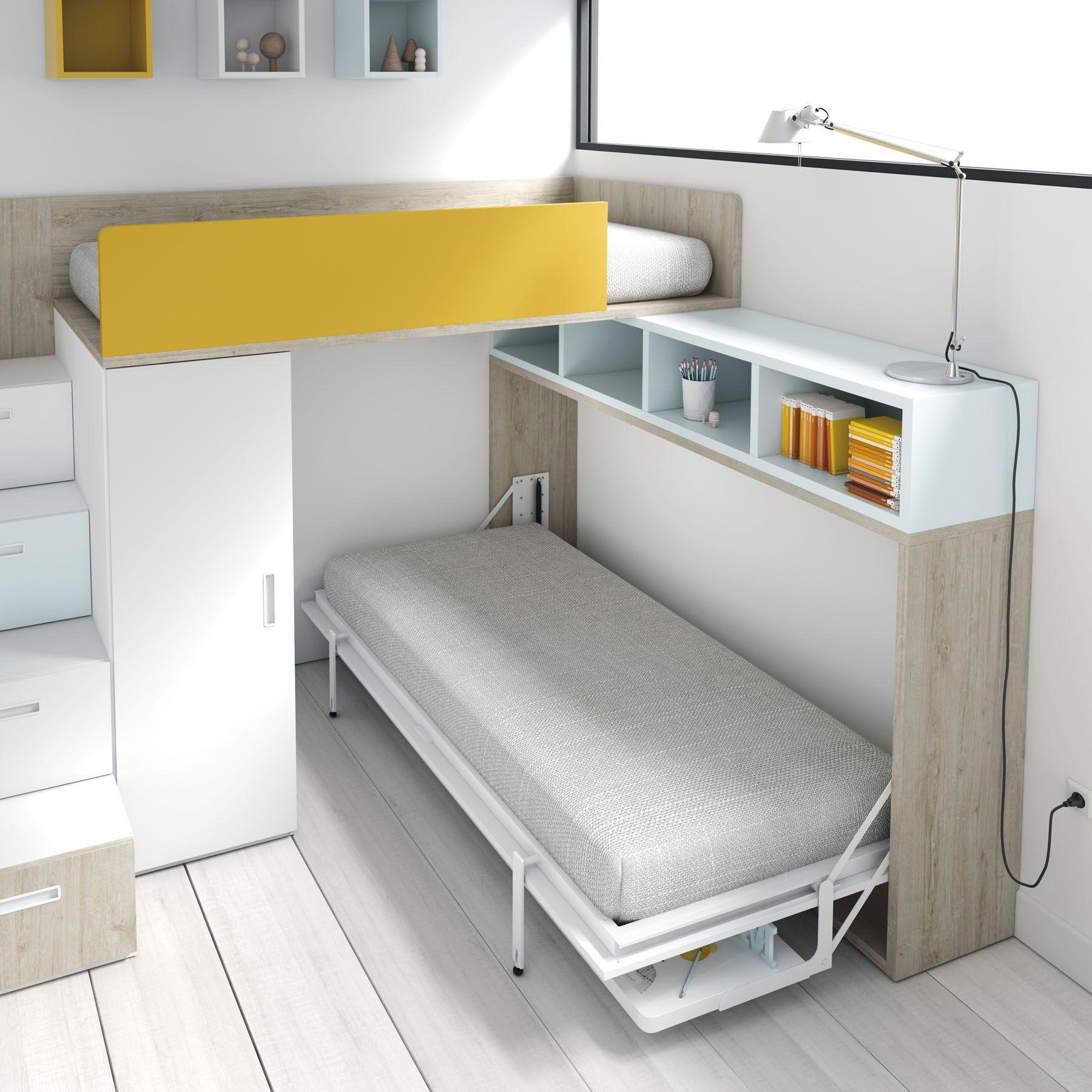 Cama Escritorio Abatible Ikea 9ddf Camas Tren Y Blocs Qb by Tegarmobel Tiny Houses Pinterest