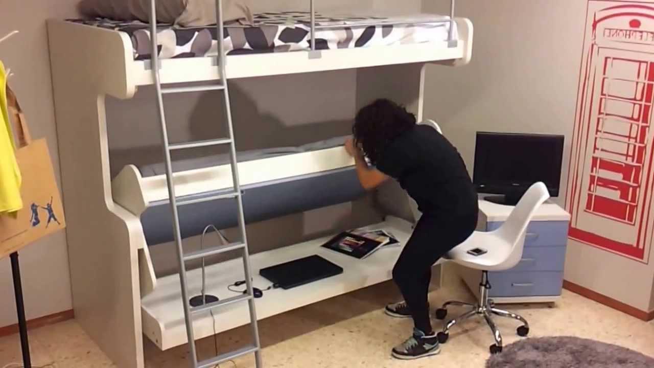 Cama Escritorio Abatible Ikea Kvdd Litera Abatible Con Escritorio Leadersjuvenils Youtube