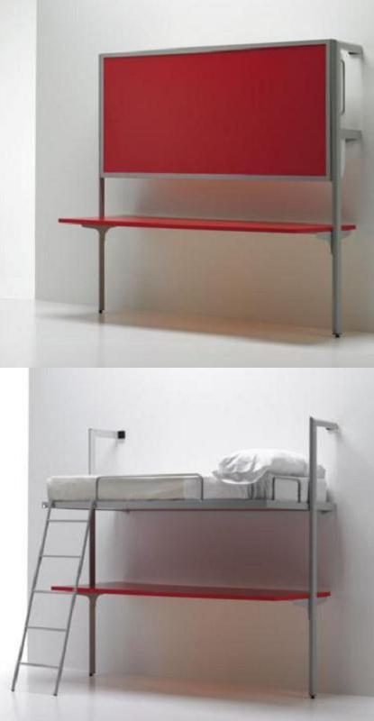Cama Escritorio Abatible Ikea Nkde 14 Camas Plegables Para Ahorrar Espacio En El Dormitorio Decoracià N