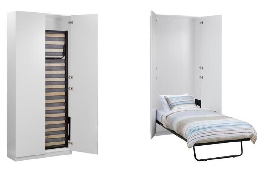 Cama Escritorio Abatible Ikea O2d5 Ideas De Camas Que Se Esconden En El Techo Pared O Dentro De Armarios