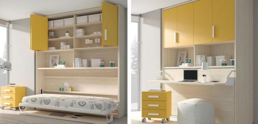 Cama Escritorio Abatible Ikea Rldj Ideas De Camas Que Se Esconden En El Techo Pared O Dentro De Armarios