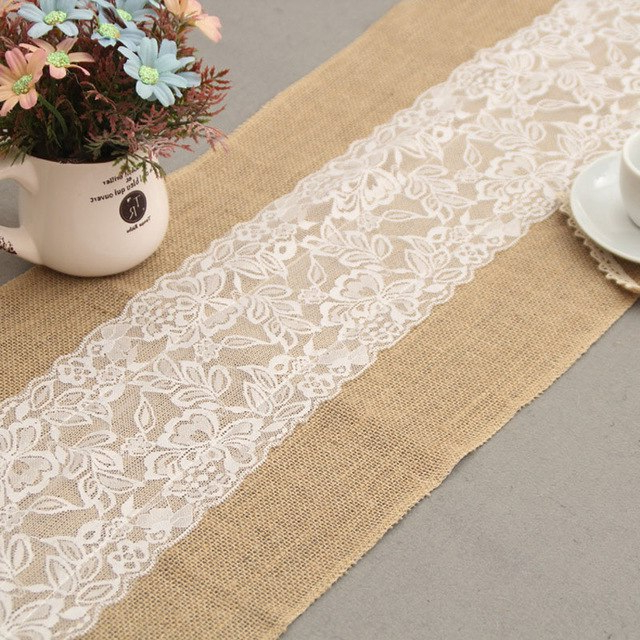Camino De Mesa Zwd9 Wedding Lace Tablecloth Runner Camino De Mesa Boda Chemin De Table