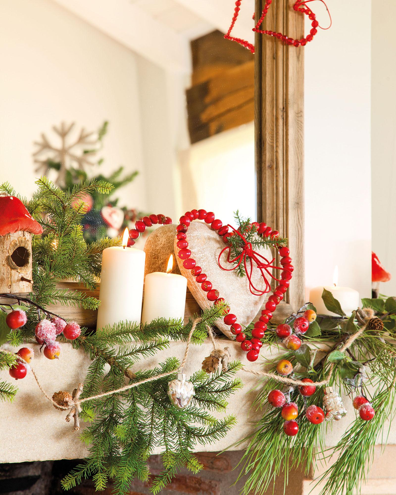 Caminos De Mesa Navideños Ftd8 Decoracià N De Navidad En Rojo Y Verde 15 Ideas Para Decorar Tu Casa