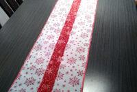 Caminos De Mesa Navideños Q5df Ideadoamano Decora Tu Mesa En Navidad Camino De Mesa