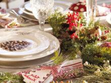 Caminos De Mesa Navideños Tqd3 Decoracià N De Navidad En Rojo Y Verde 15 Ideas Para Decorar Tu Casa