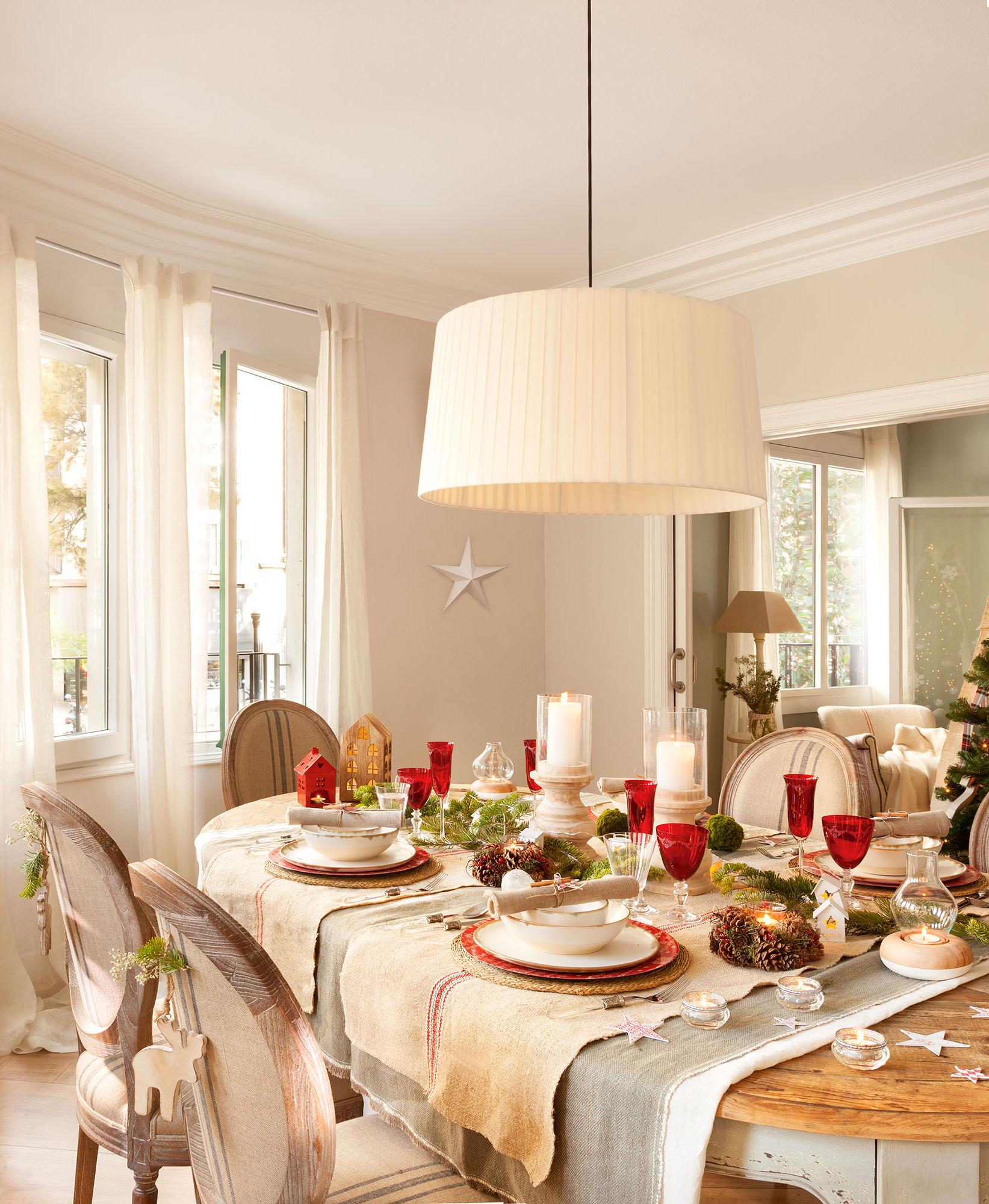 Caminos De Mesa Navideños Whdr Decoracià N De Navidad En Rojo Y Verde 15 Ideas Para Decorar Tu Casa