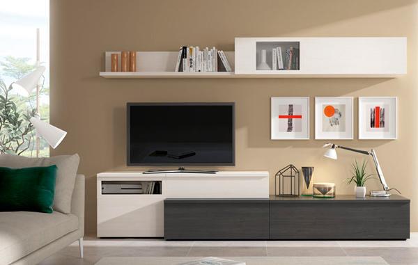 Catalogo De Muebles De Salon T8dj Muebles De Salà N Prar Edor Moderno Y Actual Con Televisor