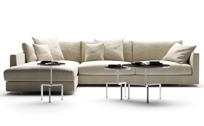 Centro sofa Budm Flexform Magnum sofa Deplain
