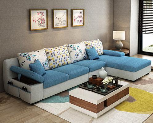 Centro sofa S5d8 Belleza Apartamento Telas sofà Con Mesa De Centro En sofà S De Sala