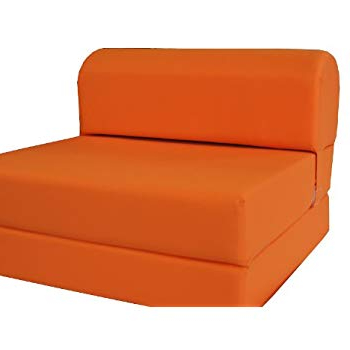 Chair Bed S5d8 D D Futon Furniture orange Sleeper Chair Folding Foam
