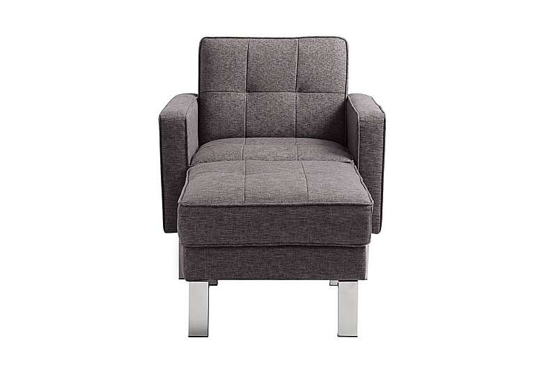 Chair Bed Txdf Newman Fabric Chair Bed with Footstool Furniture Village
