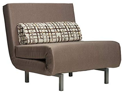 Chair Bed Whdr Cortesi Home Savion Convertible Accent Chair Bed Taupe