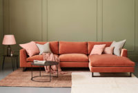 Chaise sofa S1du Jasper Modern sofa with Chaise