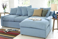Chaise sofa Tqd3 Large Left Hand Cloud Chaise sofa In thatch House Fabric