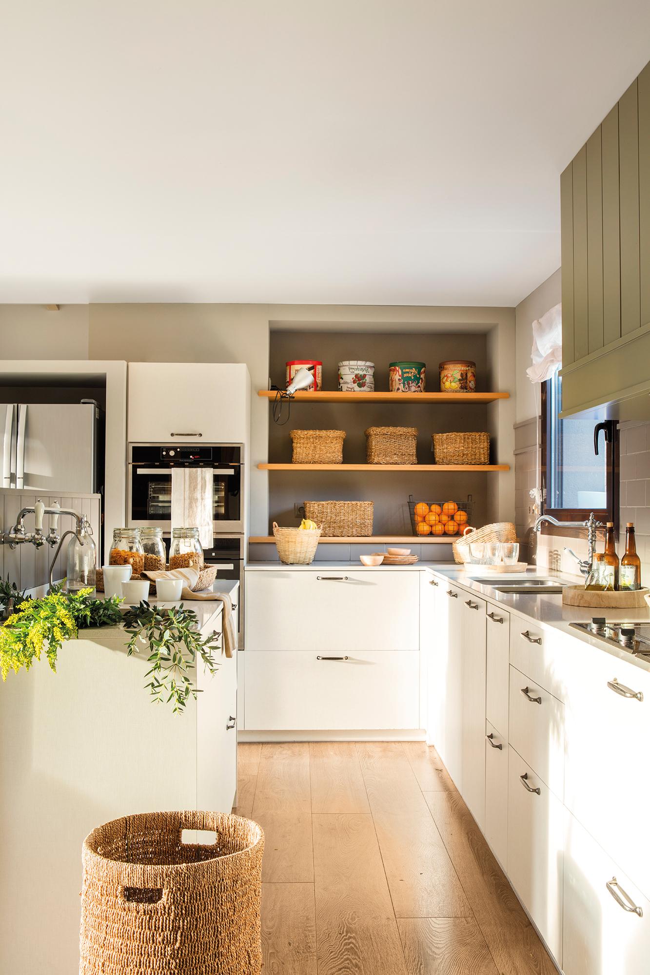 Cocinas Con Muebles Blancos Qwdq Cocinas Las 50 Mejores De El Mueble