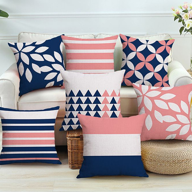 Cojines Decorativos Para sofas 87dx nordic Colourful Geometric Printed Cushion Cover Home Decorative