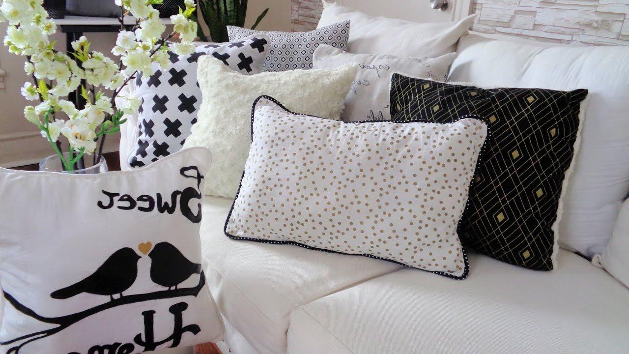 Cojines originales Para sofas Q0d4 O Hacer Fundas Para Cojines Cojines Decorativos Youtube