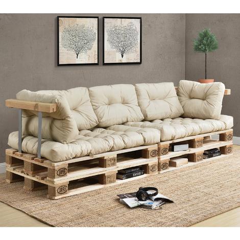 Cojines Para sofa Beige 9fdy Ensa Set De 7 Cojines Para sofà Palà Cojines De asiento