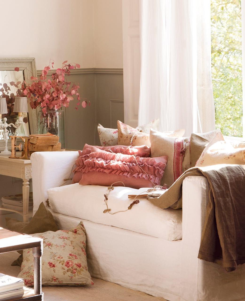 Cojines Para sofa Beige Ipdd El Poder De Los Cojines Un sofà De Revista