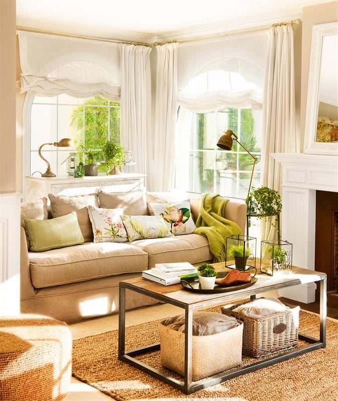 Cojines Para sofa Beige Wddj Tres Looks Para Cambiar De Salà N En Un Plis Plas Salones