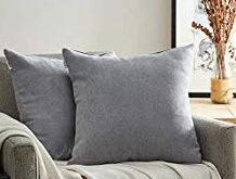 Cojines Para sofa Gris