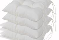 Cojines Sillas Whdr Conjunto De 4 Cojines Para Sillas Cojà N De asiento Almohada De Color