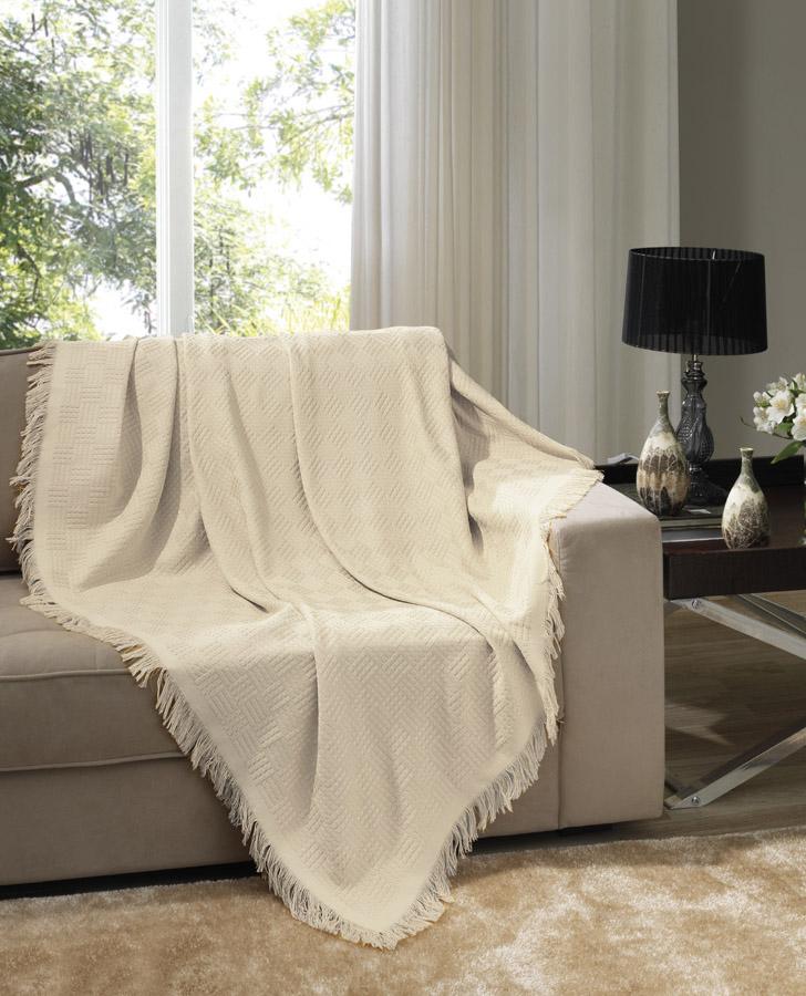 Colcha Para sofa E9dx Manta P sofà London Marfim 8657 Dohler