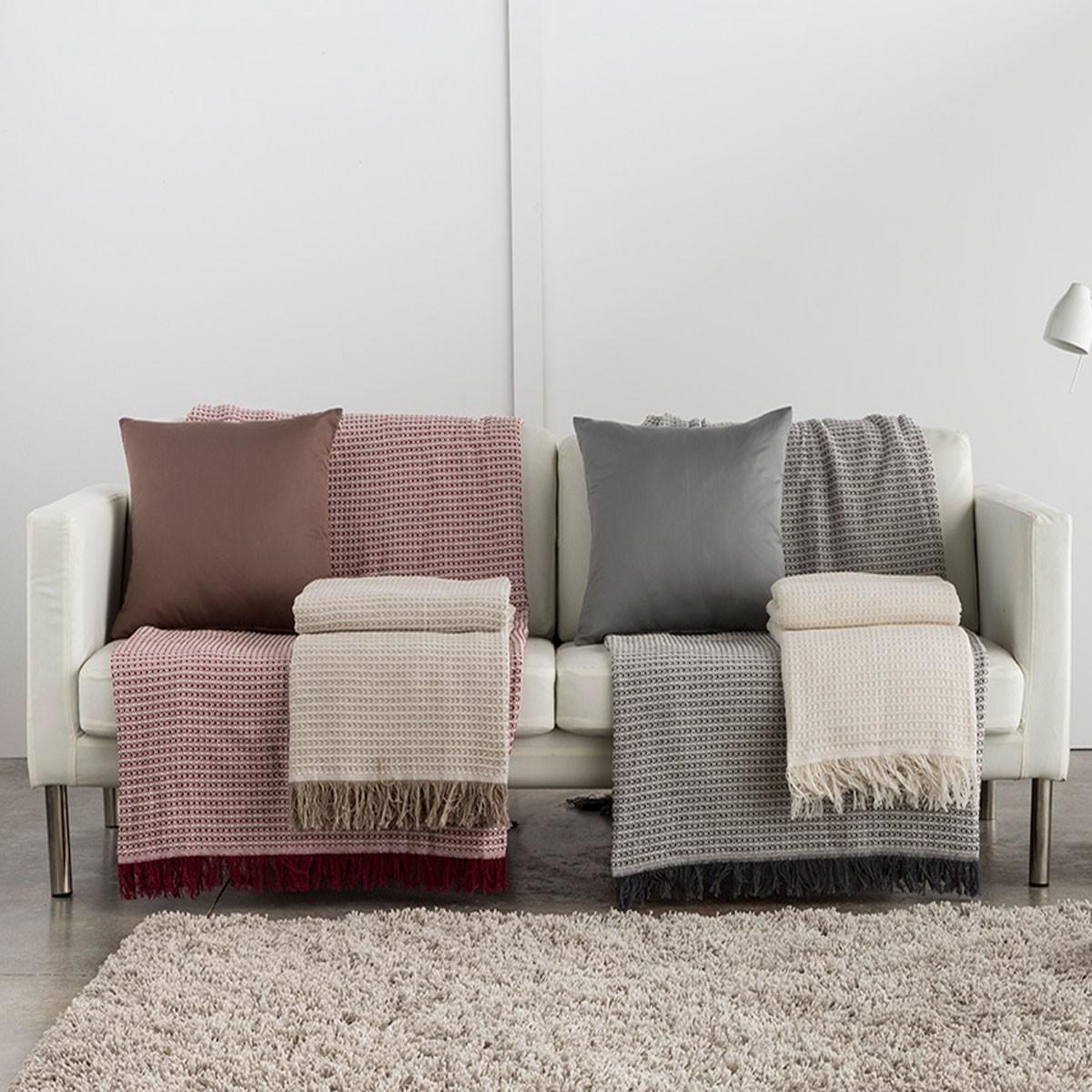 Colcha sofa Tqd3 Plaid Nido De Abeja Desde 9 76 Mishilos
