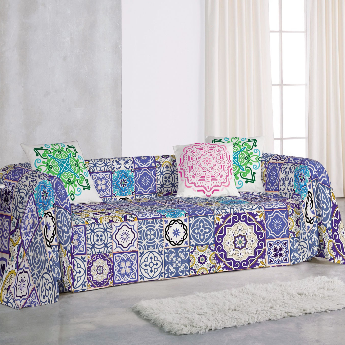 Colcha sofa Xtd6 Foulard Manisa