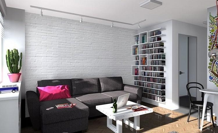Combinar sofa Gris Oscuro 9ddf sofà S Energà A Oscura En El Salà N Moderno