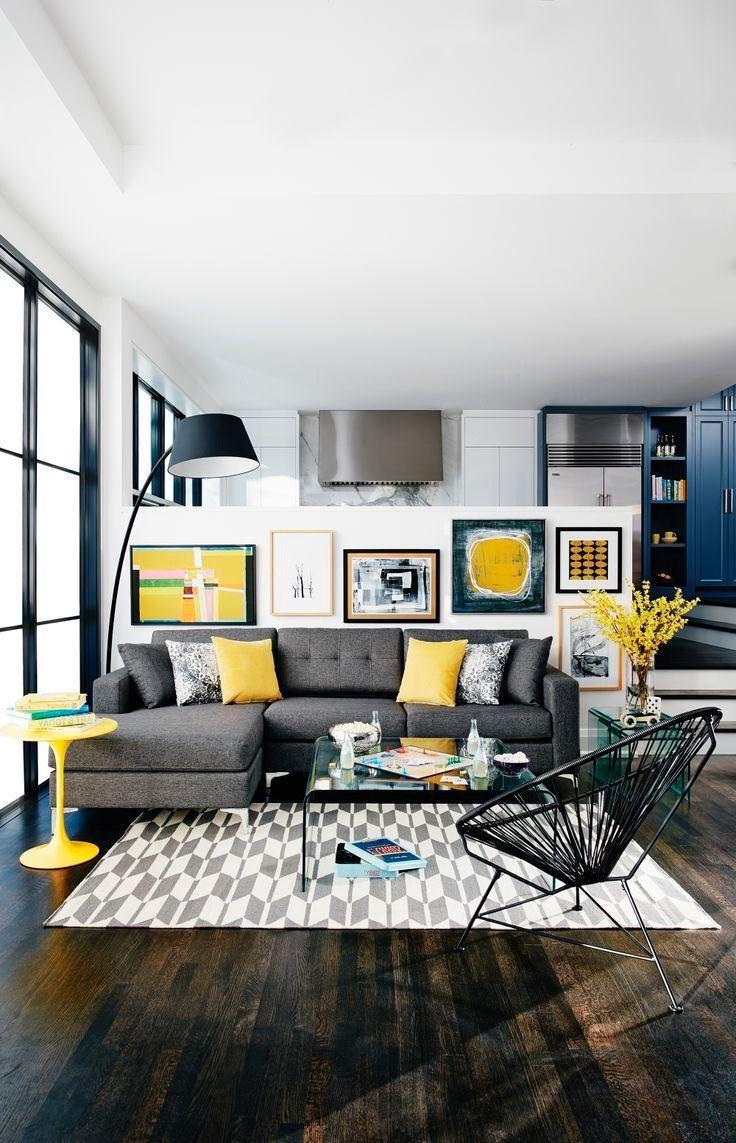 Combinar sofa Gris Oscuro Etdg Cojines Para sofà Gris Salon Pinterest Living Room Decor
