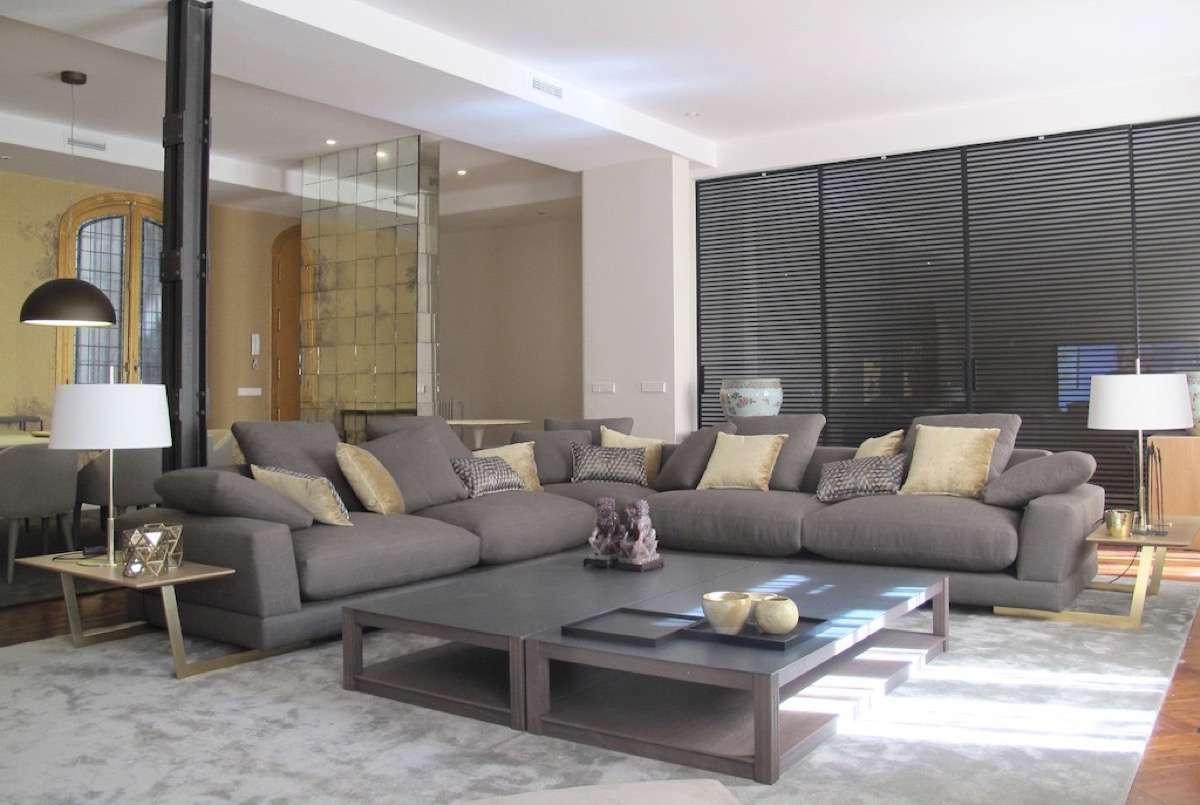 Combinar sofa Gris Oscuro Jxdu sofà S Grises Para Agrandar El Salà N Decoraciond