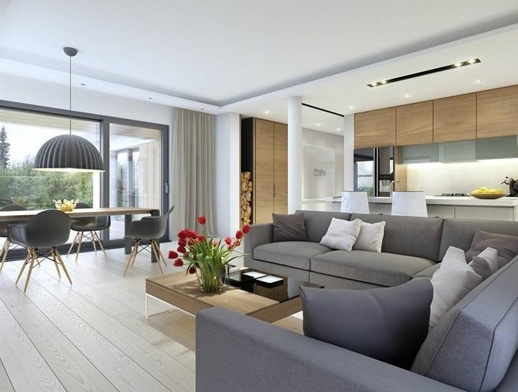 Combinar sofa Gris Oscuro Rldj sofà S Energà A Oscura En El Salà N Moderno