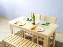 Comedor Con Banca 3id6 Restaurantero Edor 4 Personas Con Banca 2 190 00 En Mercado
