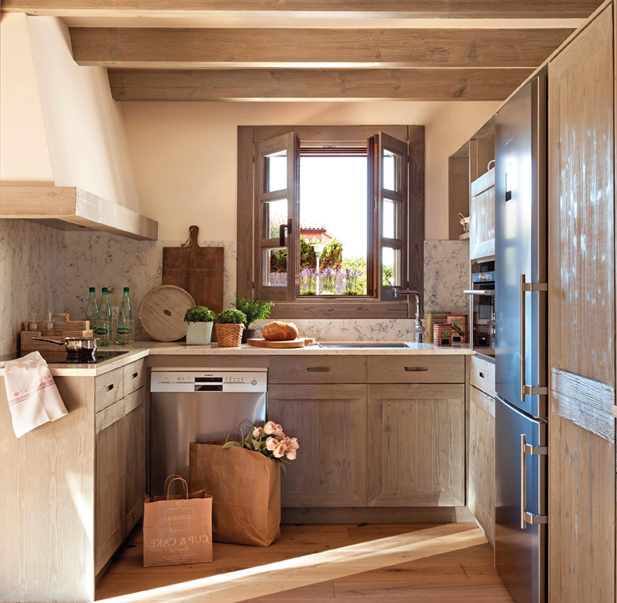 Como Amueblar Una Cocina E9dx 20 Fotos De Cocinas Pequeà as Bien Aprovechadas