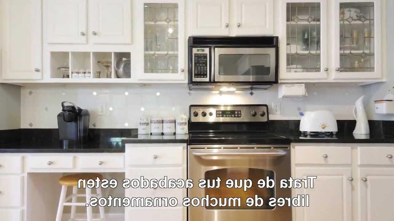 Como Amueblar Una Cocina Jxdu Cà Mo Decorar Una Cocina Pequeà A Aprende Ahora Mismo Youtube