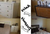 Como Cambiar Un Mueble De Color Oscuro A Blanco Dwdk O Pintar Muebles De Blanco Cambia El Dormitorio Facil Y Barato