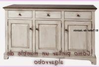 Como Cambiar Un Mueble De Color Oscuro A Blanco Txdf CÃ Mo Pintar Un Mueble De Algarrobo