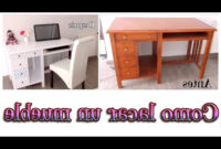 Como Cambiar Un Mueble De Color Oscuro A Blanco Whdr O Lacar Muebles De Madera Tutorial Muebles Lacados En Blanco