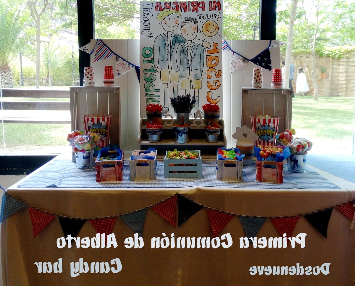 Como Decorar Una Mesa De Comunion Para Niño Ffdn Candy Bar Para Primera Unià N De Nià O