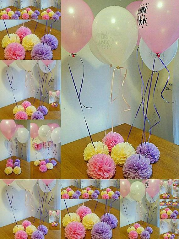 Como Decorar Una Mesa De Comunion Para Niño S1du Wedding Party Baby Shower Christening Balloon Weights Table