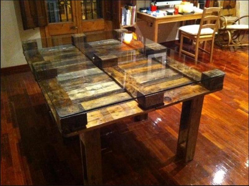 Como Hacer Una Mesa De Comedor Con Palets T8dj O Hacer Una Mesa De ...