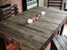 Como Hacer Una Mesa De Comedor Con Palets S1du 50 Ideas De Mesas Hechas De Palets Y Tutorial De Cà Mo Hacerlas